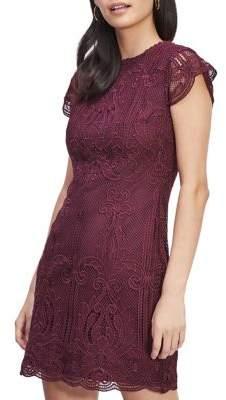 Miss Selfridge Embroidered Lace Sheath Dress
