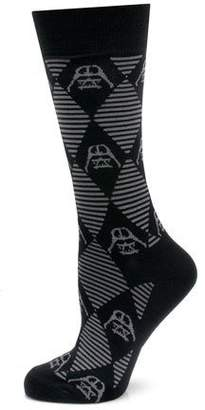 Cufflinks Inc. Star Wars Darth Vader Argyle Socks