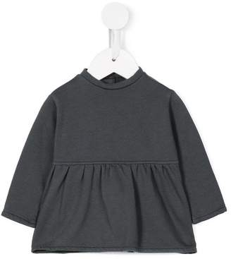 Opililai pleated jersey top
