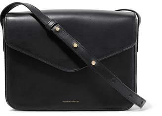 Mansur Gavriel Envelope Leather Shoulder Bag - Black