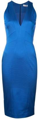 Zac Posen fitted silhouette v-neck dress