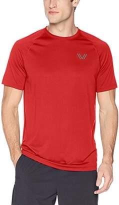 Peak Velocity Men's Standard Tech-Vent Short Sleeve Quick-dry Loose-Fit T-shirt
