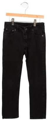 Little Marc Jacobs Girls' Black Skinny Jeans