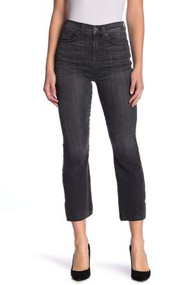Hudson Jeans Holly Crop Flare Leg Step Hem Jeans