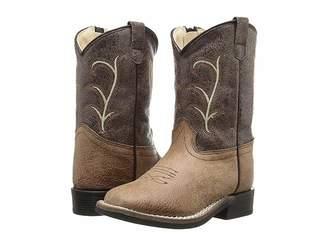 Old West Kids Boots Square Toe Vintage (Toddler)