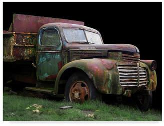 "Hunter Trademark Global Larry 'Macs Trucking Gmc' Canvas Art - 24"" x 18"""