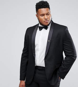 Farah Smart PLUS Skinny Tuxedo Suit Jacket