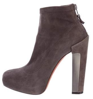 Brian Atwood Edeline Suede Ankle Boots