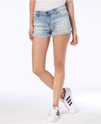 STS Blue Ripped Cuffed Denim Shorts