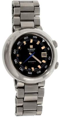 Tissot T12 44594 Stainless Steel Black Dial Automatic 44mm Mens Watch