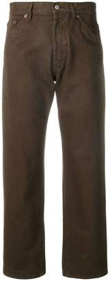 Jacquemus straight-leg cropped jeans