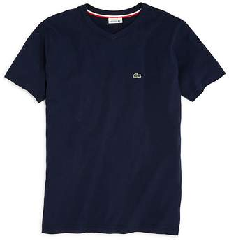 Lacoste Boys' V-Neck Tee - Little Kid, Big Kid