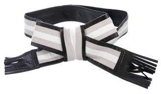 Fendi Bow Waist Belt