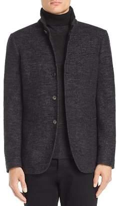 John Varvatos Collection Slim Fit Heathered Blazer