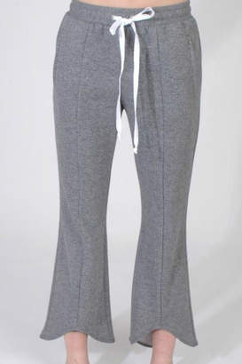 DREW Cropped Flare Sweatpants