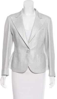 Ralph Lauren Purple Label Linen Long Sleeve Blazer