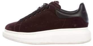 Alexander McQueen Larry Suede Sneakers