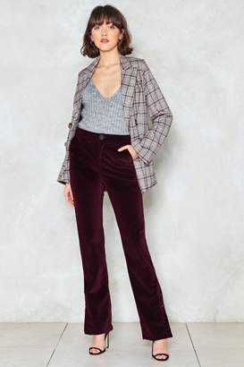 Nasty Gal Long Time Coming Corduroy Pants