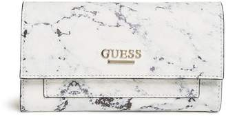 Factory GUESS Women's Teyanna Slim Wallet