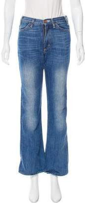 Acne Studios Mid-Rise Flared Jeans