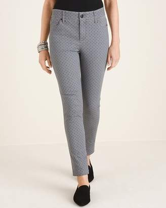 Chico's Chicos Secret Stretch Dotted Jeggings