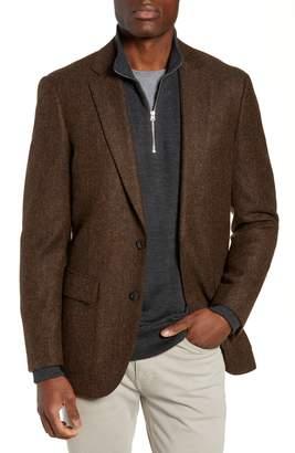J.Crew Ludlow Herringbone Tweed Blazer