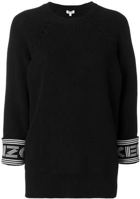 Kenzo rib knit sweater