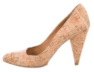 Maison Margiela Cork Round-Toe Pumps