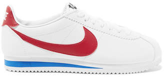 Nike Classic Cortez Leather Sneakers - White