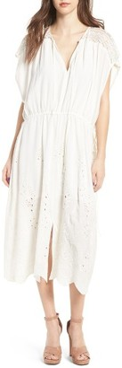 Women's Astr The Label Embroidered Caftan $89 thestylecure.com