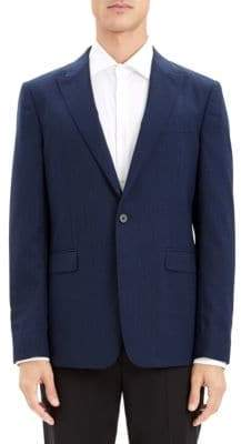 Theory Chambers Stretch Wool Suit Jacket