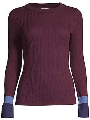 BOSS Women's Super Fine Merino Wool Sweater