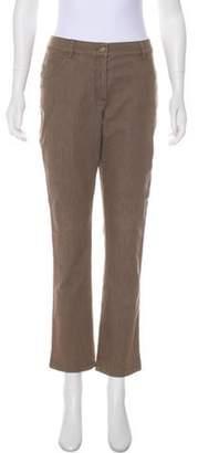 St. John Mid-Rise Straight-Leg Jeans Mid-Rise Straight-Leg Jeans