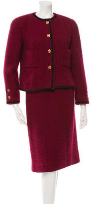 Chanel Tweed Skirt Suit $495 thestylecure.com