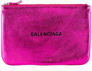Balenciaga Everyday Large Pouch Clutch Bag