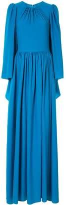 Ingie Paris round-neck maxi gown