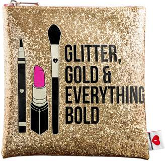 Sephora Glitter, Gold, & Everything Bold Clutch