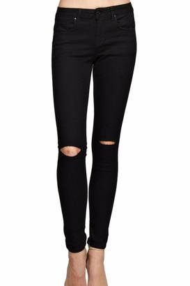 Monkey Ride Jeans Black Ripped Jeans $30 thestylecure.com