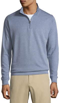Peter Millar Crown Comfort Men's Interlock Half-Zip Sweater