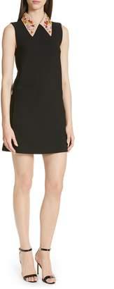 N°21 N21 N?21 Beaded Collar Shift Dress