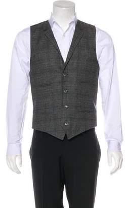 Dolce & Gabbana Wool-Blend Plaid Vest