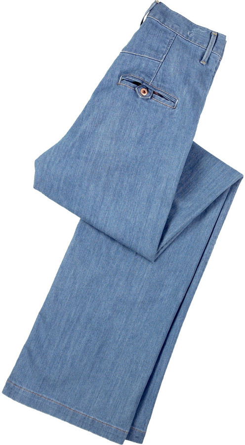 Earnest Sewn Whiley wide leg jeans
