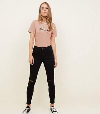 New Look Tall Black Skinny Jenna Jeans