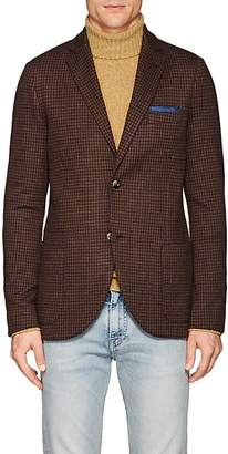 Loro Piana Men's Houndstooth Cashmere-Silk Sportcoat