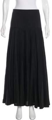 Robert Rodriguez Button-Up Midi Skirt