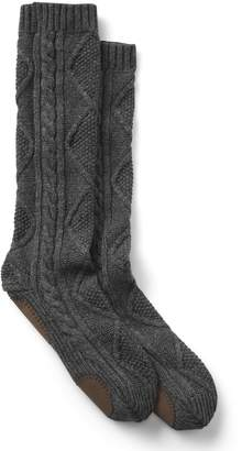 Gap Merino wool cable-knit crew socks