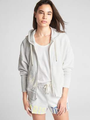 Gap Logo Global Remix Pullover Hoodie in French Terry