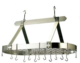 Old Dutch Oval Pot Rack with Grid