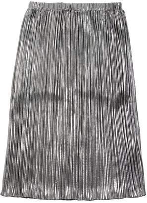 Diesel Metallic Pleated Skirt