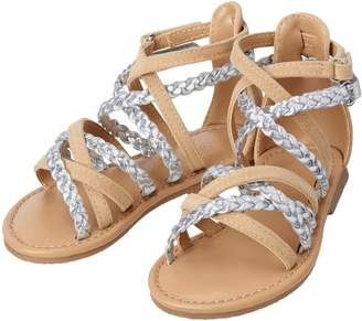 Crazy 8 Crazy8 Braid Gladiator Sandals
